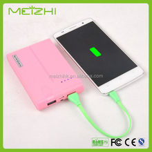 super high quality real capacity power bank for camcorder charger with 18650 li-ion battery cell for mobile phone