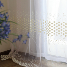 Hot selling high quality organza voile sheer curtain blackout fabric