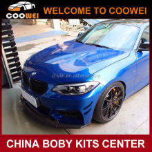 Auto F22 E Style Carbon Fiber Front Bumper Lip For BMW 2 Series F22 M235i