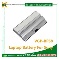 Best quality 100% original laptop battery for sony vgp bps8 4800mah