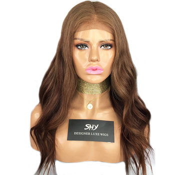 Cheap Full Lace Wigs With baby Hair Cuticle Aligned Free Shipping DHL