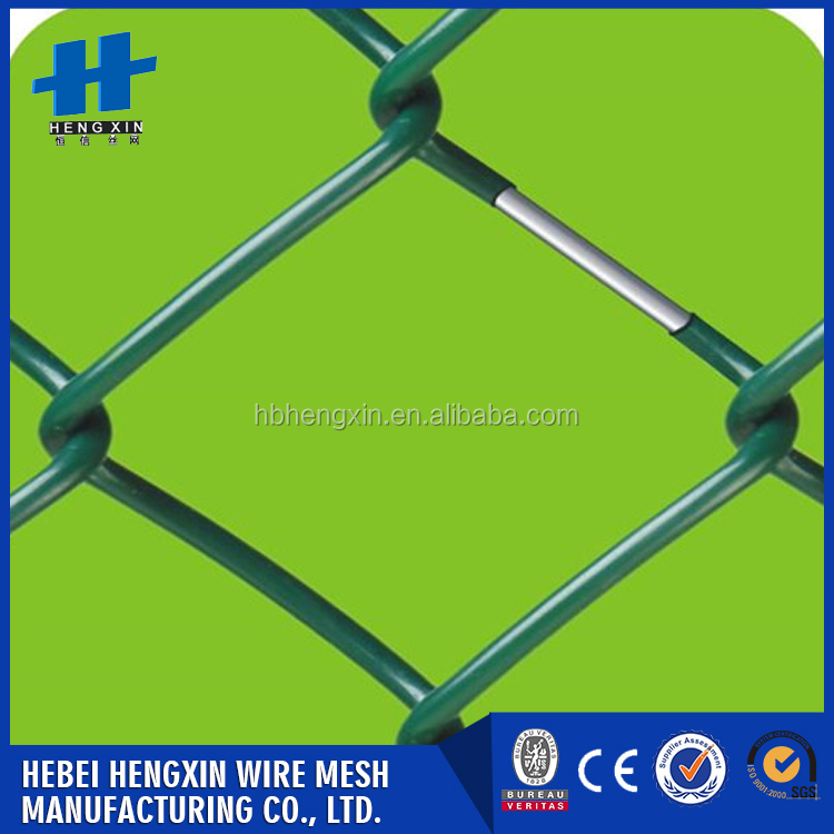 2017 Wholesale high quality cheap price galvanized chain link fence