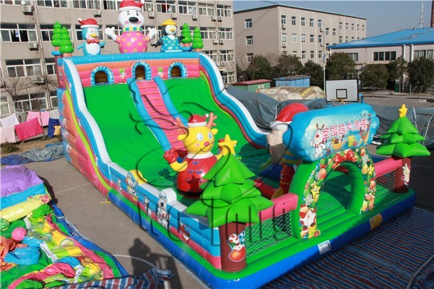 inflatable bounce play house, inflatable bouncer with slide