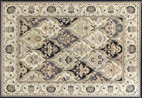 High Quality! Persian &Royal design Chenille Jacquard Carpet Bed foot mat XYS-030