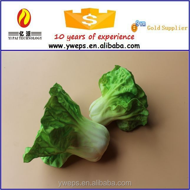 PVC Material Artificial Fake Fresh Vegetable For Decoration