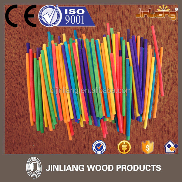 High Quality colored wooden sticks