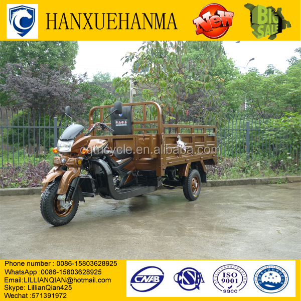 rear double wheels cargo motor/wheel truck cargo tricycle