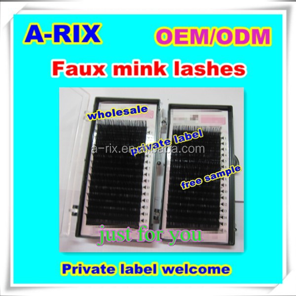 wholesale alibaba extensions color individual eyelash