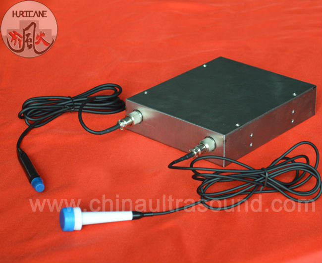 Doppler Blood Flow Detector with PCB for Computer/Medical System