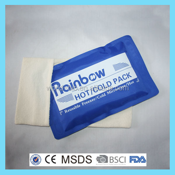 Rehabilitation therapy supplies freeze gel packs