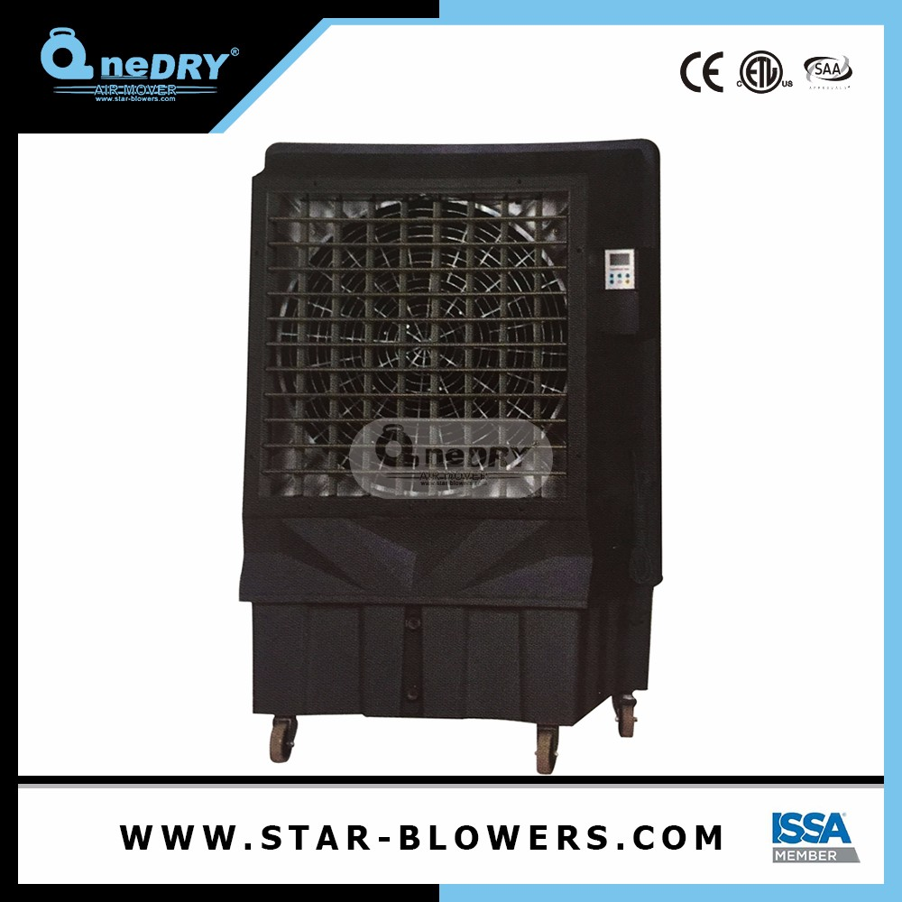Outdoor Mist Cooling System Humidifying Portable Evaporative Iron Body Air Cooler Industrial