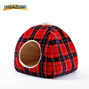 Luxury Pet Bed Competitive Price Flannel Pet Bed Warm Cat House