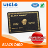 China Best black/gold plating metal card Wholesale