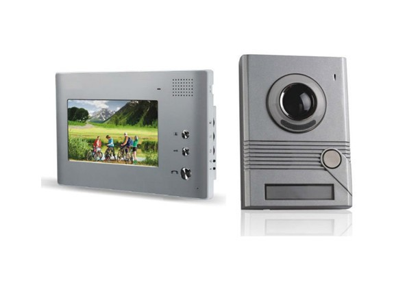 Intercom system 4 wire video door phone kit indoor Monitor Video Door Phone