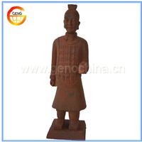 External Stone Carved Terracotta Warrior Garden