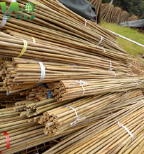 WY-072 2017 Hot Selling treated bamboo poles for garden decoration