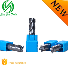 2017 New Products High Perfomance Milling Tools/Diamond Carbide Flat End Milling Cutter for Granite