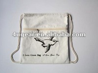 New cotton draw string bag