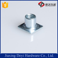 Made In China M10 Carbon Steel Zinc Plated Square T Type Weld Special Nut