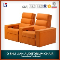 VIP Double Seater Sofa / Lover Chair/ Home Theater Recliner SJ5807