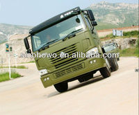 Strong Power SINOTRUK HOWO 6X6 All Wheel Drive Off-Road Dump Truck For Sale