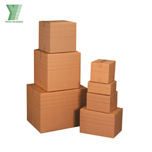 Custom Printed Small Corrugated Folding Packaging Carton Shipping Box Wholesale