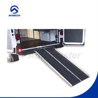 CE Approved Disabled Folding Wheelchair Ramp with Grip Tape