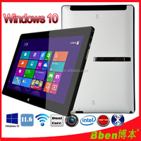 Hot selling tablet pc windows 10 with wifi/BT4.0/3G/4G /call function