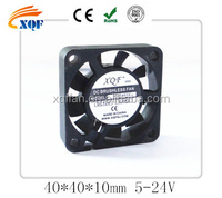 12V high quality dc fan 40x40x10mm for LED light Shenzhen dc cooling fan model 4010