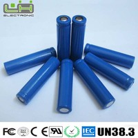 2000mah 3.7V 18650 lithium ion battery for vacuum cleaner