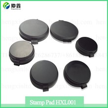Mini Round Shape Plastic election ink stamp pad