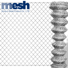 Direct factory high quality hot dip galvanized PVC coated used chain link fence