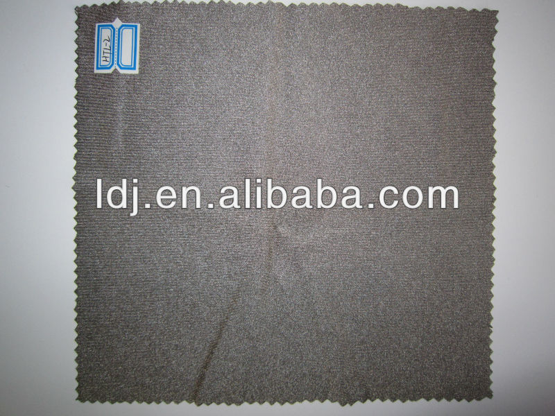 100% silver knitted fabric antibacterial fabric EMF shielding fabric silver fiber fabric