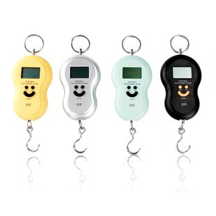 50kg smile keys portable <strong>scale</strong> digital travel luggage weighing <strong>scale</strong>