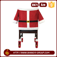 Professional christmas cute floor protect cartoon banquet hall chair cover