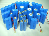 Made in shenzhen 3.7v ICR18650 2200mah cylinder rechargeable lithium ion battery