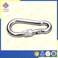 Superior Quality Standard DIN5299 Triangle Carabiner Hook with crew