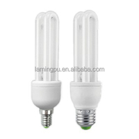 2U 15W E27 6500K Energy saving light bulb