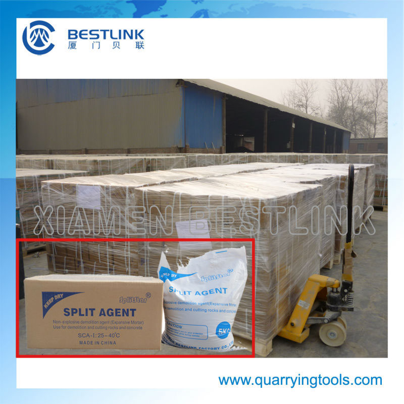 oem brand expansive mortar demoliton agent using in mine