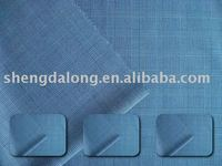 fabrics with slub for suiting and garment