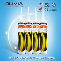 Neutral transparent silicone sealant RTV glass sealant OLV128