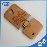 high quality wood cell phone case for samsung galaxy s4 9500