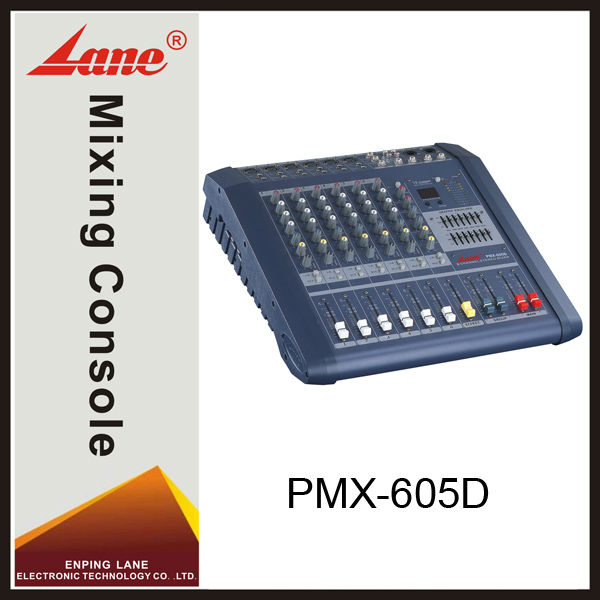 Lane PMX-605D professional audio DSP mixing console