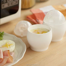 2Pcs Cute Egg Cup White Microwave Oven Cup For Various Ways Of Cooking Quick Egg