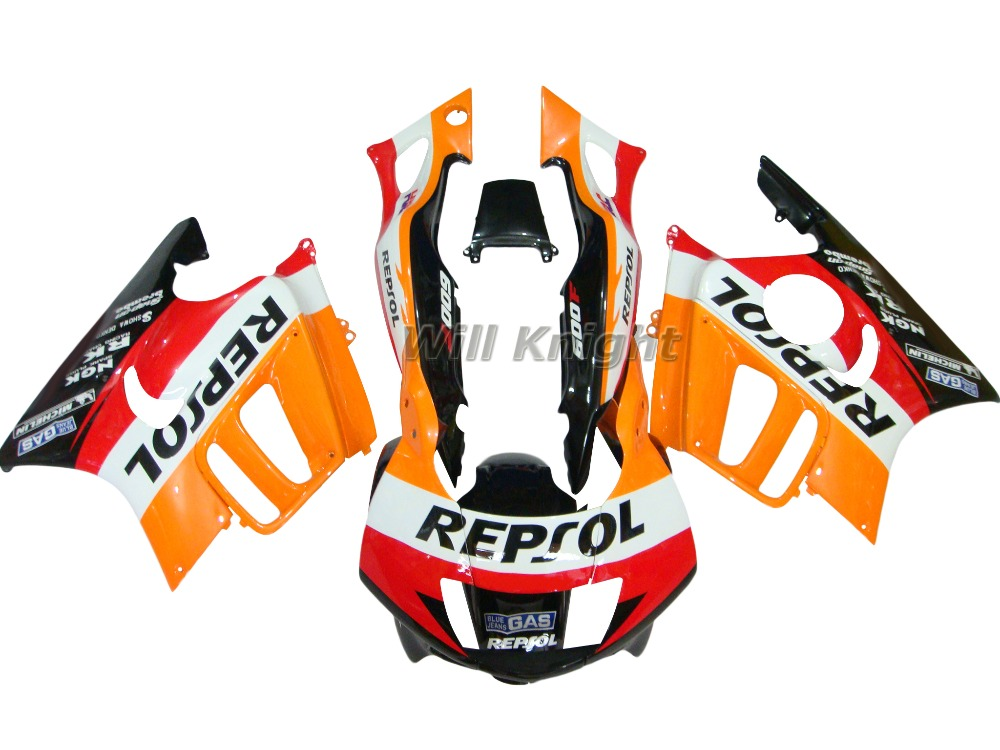 Fairing Kit for Honda CBR 600 F3 1997 1998 Orange Repsol Edition