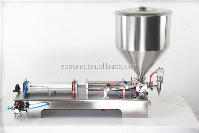 10-300ml Single Head Pneumatic Butter Paste Filling Machine