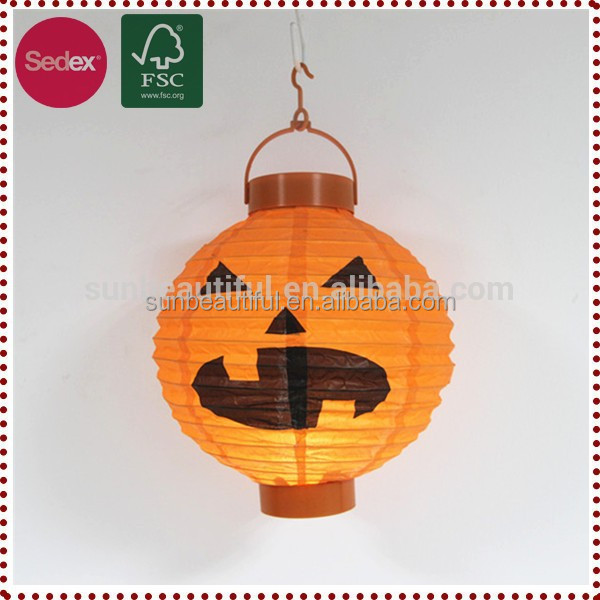 New Halloween decoration ideas Artificial Craft Wholesale Artificial Pumpkins Lantern
