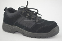 Low price good quality genuine leather steel toe safety footwear