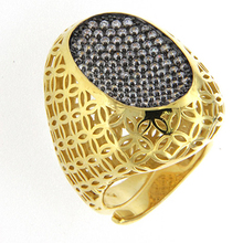 Alibaba Express Jewelry Fashion 925 Sterling Silver Antique Gold Ring Designs for Men