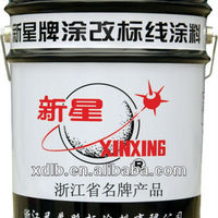 Black Cold Solvent Road Marking Paint